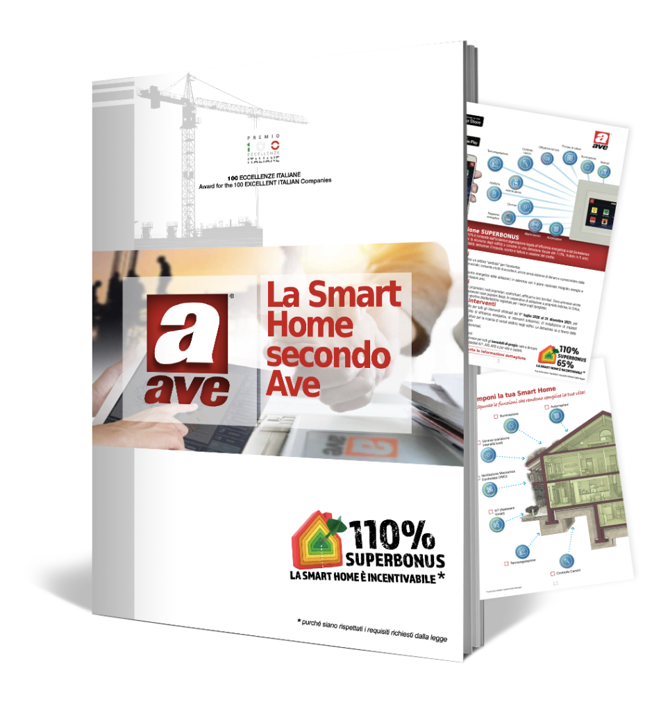 La Smart Home secondo AVE - Superbonus 110
