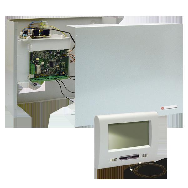 Hard wired burglar alarm control units