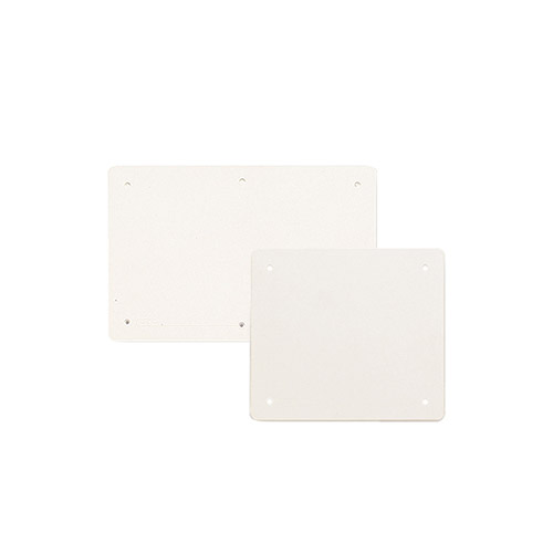 Lids for IP40 junction boxes - hollow walls