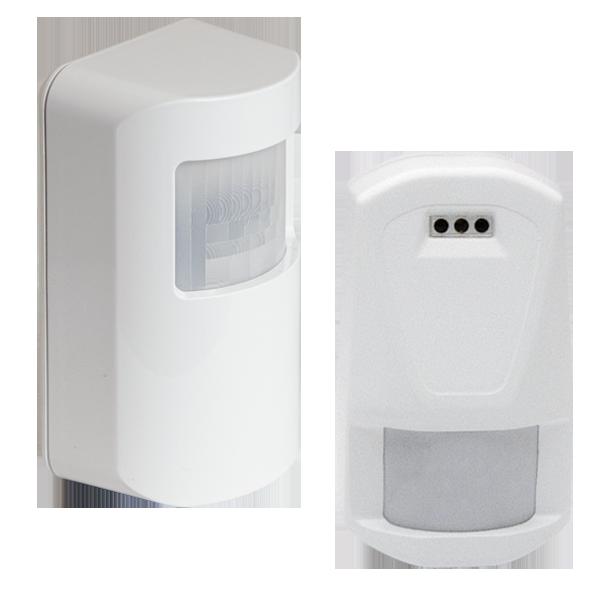 Wall mounted detectors