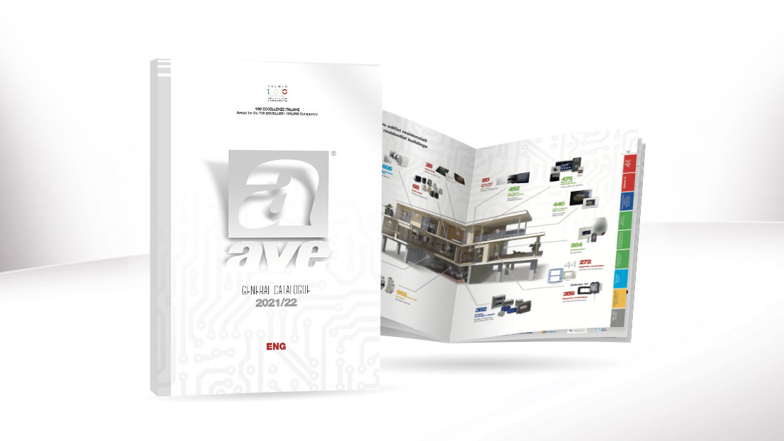 New AVE General Catalogue 2021/22