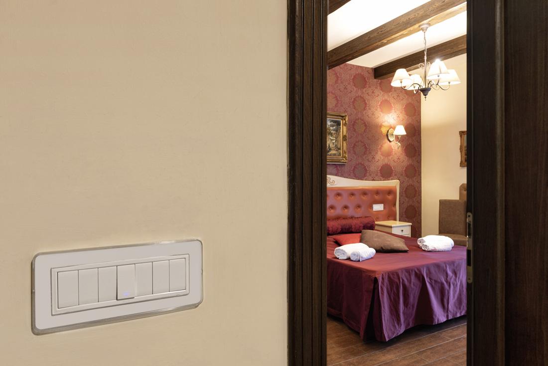 Interruttori di design - Hotel Villa Clementina